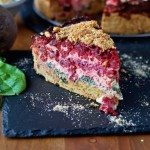 Beet and Spinach Tarte