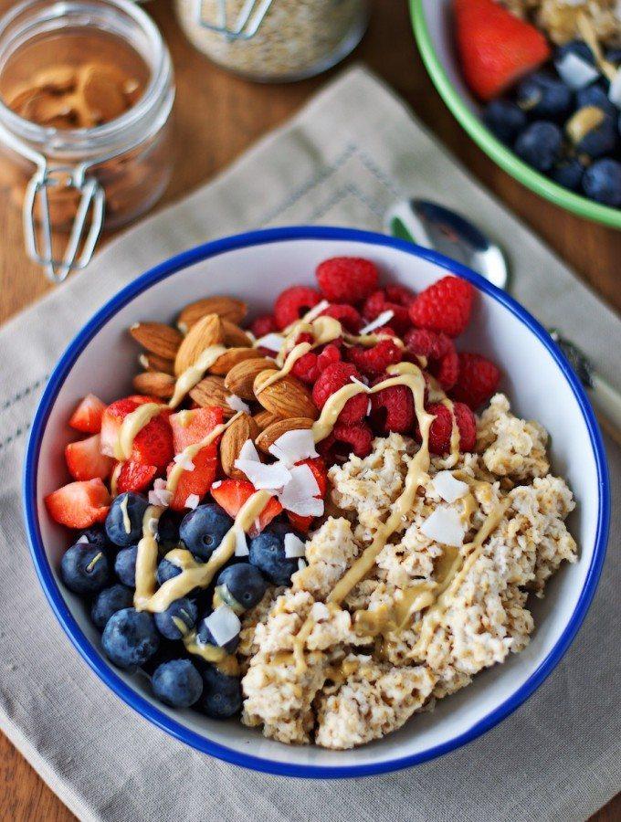 Breakfast Bowl #vegan #glutenfree | www.contentednesscooking.com