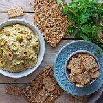 Olive Hummus #vegan #glutenfree www.contentednesscooking.com