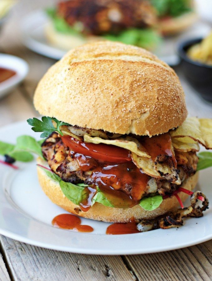 Vegan Buffalo Burger