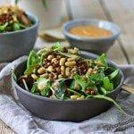 High Protein Salad #vegan #glutenfree www.contentednesscooking.com