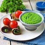 Kale Pesto | #vegan #glutenfree www.contentednesscooking.com
