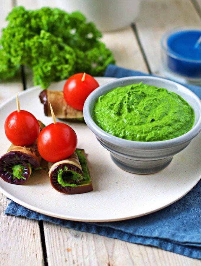 Kale Pesto with Pine Nuts