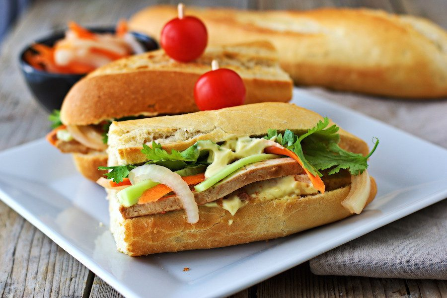 Vegan Banh Mi #vegan #glutenfree www.contentednesscooking.com