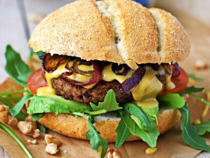 Vegan Lentil Burger Contentedness Cooking