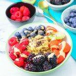 Everyday Quinoa Breakfast Bowl | #vegan #glutenfree www.contentednesscooking.com