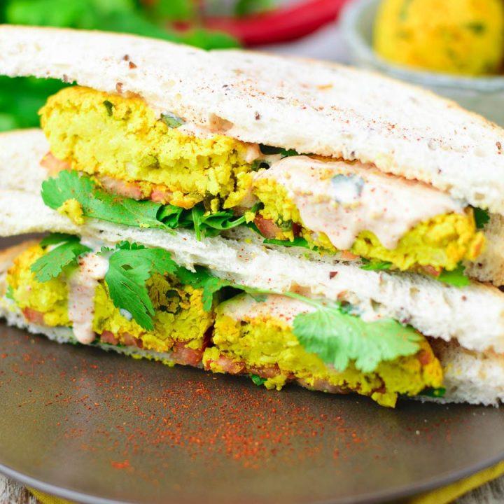 How to Make Falafel with Turmeric | #vegan #glutenfree www.contentednesscooking.com