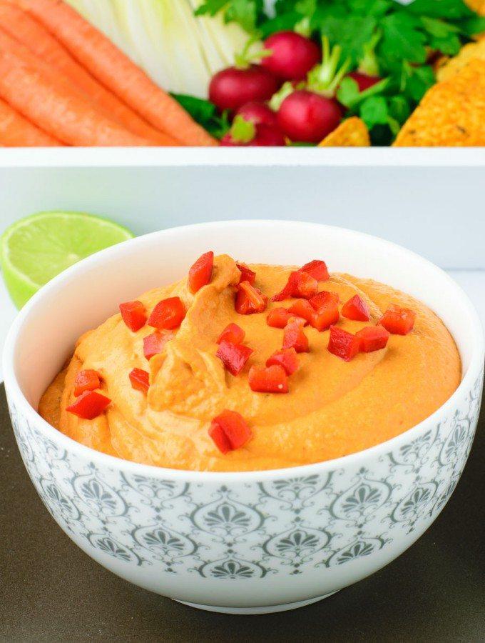 Easy Vegan Pimento Cheese | #vegan #glutenfree www.contentednesscooking.com