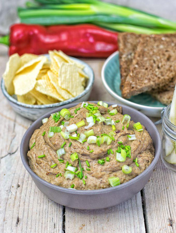 Vegan Pate with Lentils   #vegan #glutenfree www.contentednesscooking.com