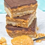 Vegan Snickers Bars | #vegan #glutenfree www.contentednesscooking.com
