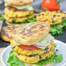 Mediterranean Vegan Burger