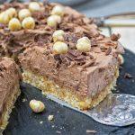 Nocciolato Hazelnut Cream Pie | #vegan #glutenfree www.contentednesscooking.com