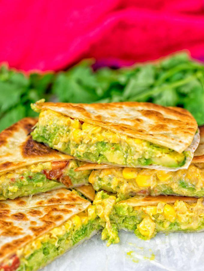 Vegan Cheese Quesadillas | #vegan #glutenfree www.contentednesscooking.com