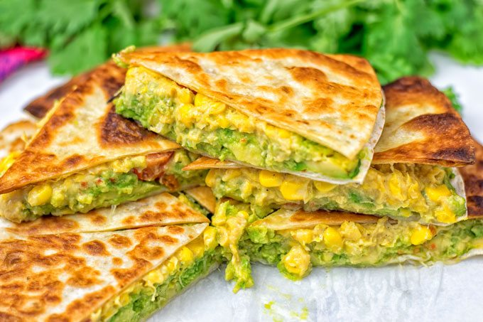 Vegan Cheese Quesadillas Contentedness Cooking