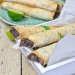 Vegan Cream Cheese Taquitos | #vegan #glutenfree www.contentednesscooking.com