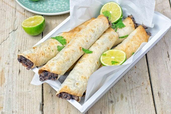 Vegan Cream Cheese Taquitos | #vegan #glutenfree www.contentednesscooking.com