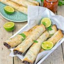 Vegan Cream Cheese Taquitos