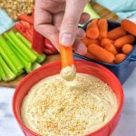 30 Seconds Best Hummus Recipe | #vegan #glutenfree www.contentednesscooking.com