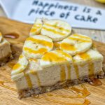 Lemon Banana Cream Pie | #vegan #glutenfree #contentednesscooking