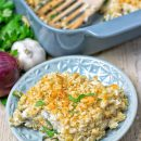 Mashed Cauliflower Green Bean Casserole