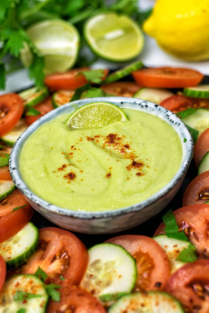 Everyday Detox Dipping Sauce | #vegan #glutenfree #contentednesscooking