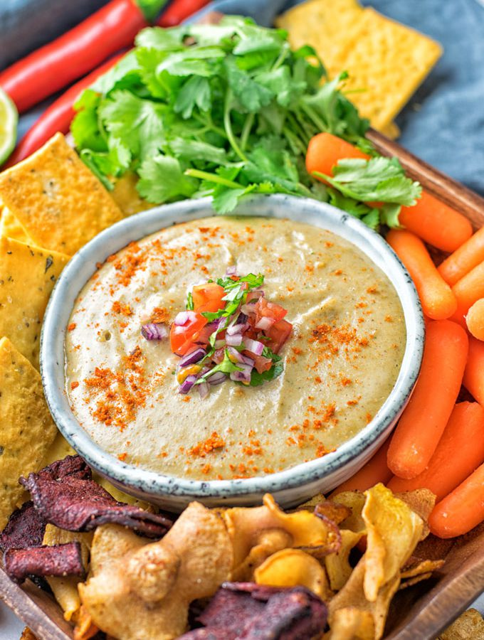 Mexican Cheese Dip [vegan, gf]
