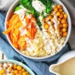 Cauliflower Rice Buddha Bowl | #vegan #glutenfree #contentednesscooking