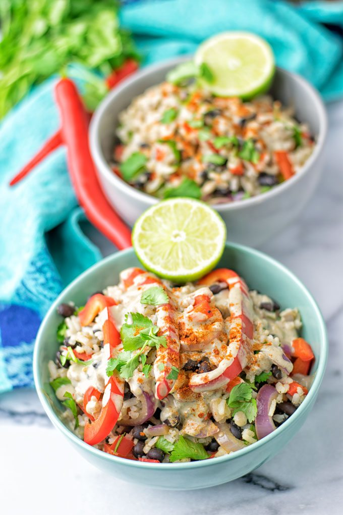 Healthy Mexican Cheese Rice   #vegan #glutenfree #contentednesscooking