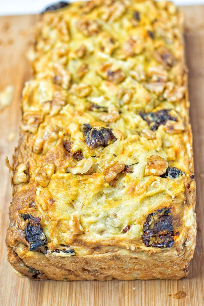 Sun Dried Tomato Garlic Bread | #vegan #glutenfree #contentednesscooking