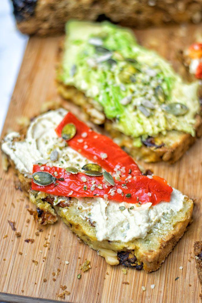 Sun Dried Tomato Garlic Bread Contentedness Cooking