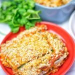 Vegan Ricotta Zucchini Casserole   #vegan #glutenfree #plantbased #soyfree #contentednesscooking