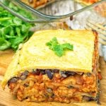 Easy Vegan Taco Lasagna   #vegan #glutenfree #contentednesscooking #plantbased #dairyfree