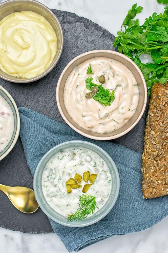 Vegan Tartar Sauce | #vegan #glutenfree #contentednesscooking #plantbased #glutenfree #dairyfree