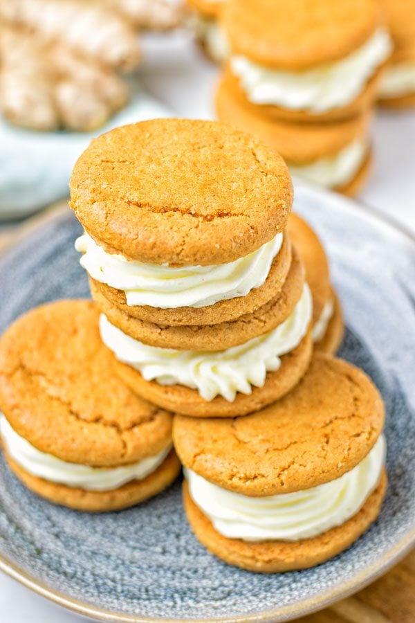 Whoopie Pie Ginger Cookies