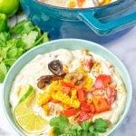 Mexican Street Corn Chowder #vegan #glutenfree #contentednesscooking