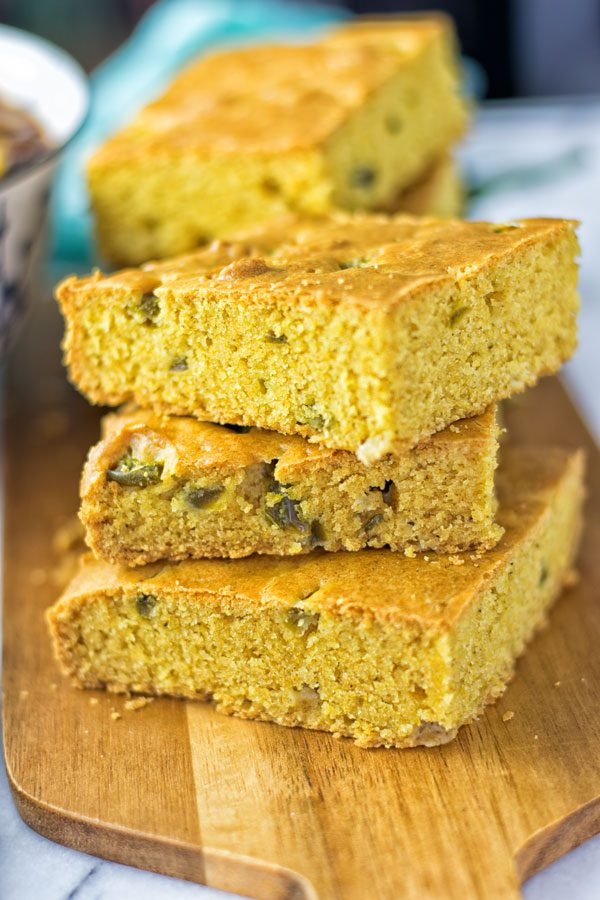Easy Jalapeno Cornbread | #vegan #glutenfree #contentednesscooking