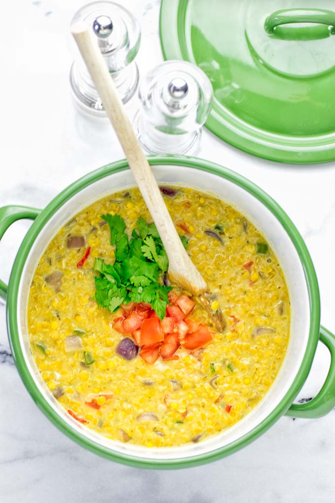 Indian Yellow Split Pea Soup (Dal Tadka) | #vegan #glutenfree #contentednesscooking #soup