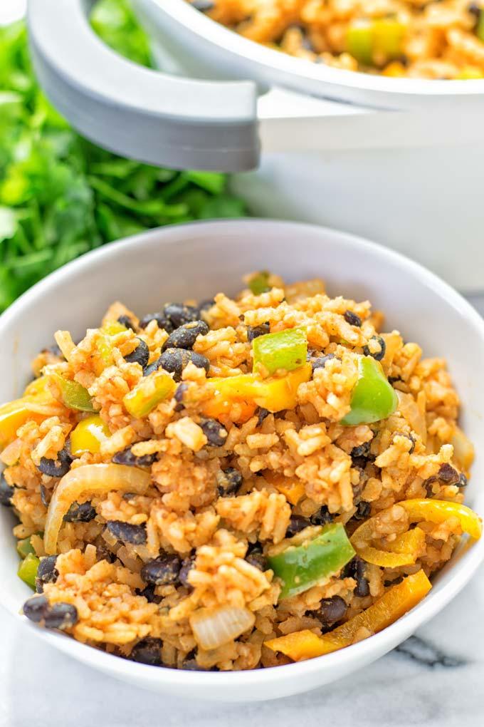 Cuban Rice and Beans   #vegan #glutenfree #contentednesscooking #plantbased #dairyfree