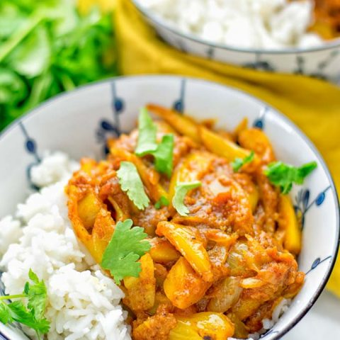 Vegan Chicken Madras   #vegan #glutenfree #contentednesscooking #plantbased #dairyfree