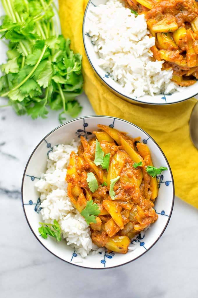 Vegan Chicken Madras | #vegan #glutenfree #contentednesscooking #plantbased #dairyfree