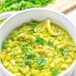 Vegetarian Chili Verde | #vegan #glutenfree #contentednesscooking #plantbased #dairyfree