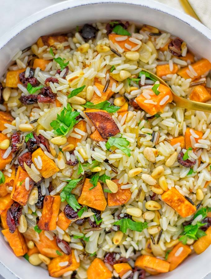 Wild Rice Pilaf [one pot, 25 minutes]