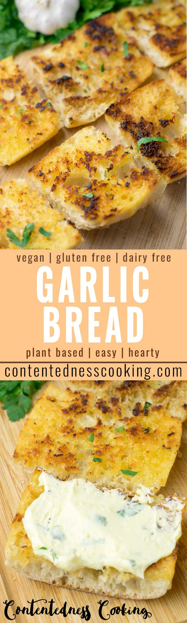 This Garlic Bread is super easy to make and the ultimate comfort food for everyone. No one would ever guess it is entirely vegan, gluten free, taste so delicious like the real deal If not better that the whole family will always love for dinner, lunch, meal prep and so much more. . #vegan #dairyfree #glutenfree #dairyfree #vegetarian #budgetmeals #dinner #lunch #contentednesscooking #garlicbread #familyfood #kidsmeals #worklunchideas #mealprep #comfortfood #partyfood #appetizers