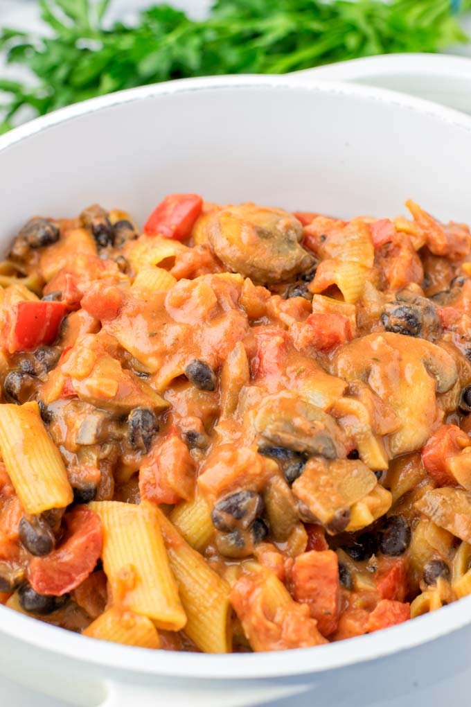 How to add cajun flavors to a pot of pasta.