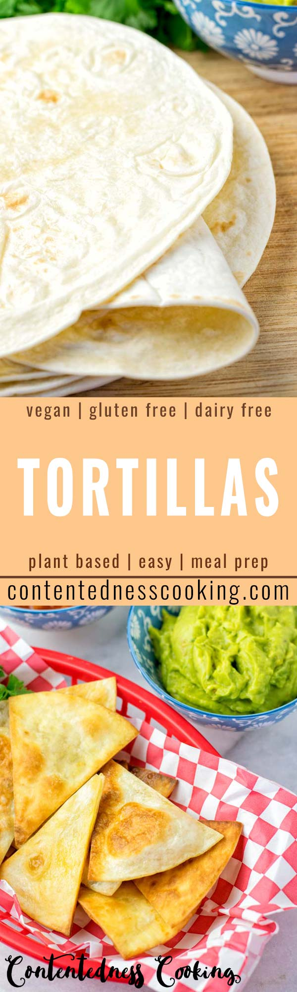 These Gluten Free Tortillas are made with only 2 ingredients and are vegan, too. Once you've tried these you expereince the easiest way to make homemade tortillas. A keeper that the whole family will love. Perfect for burritos, warps, any fillings, lunch, dinner, meal prep. #vegan #dairyfree #glutenfree #vegetarian #tortillas #homemade #dinner #lunch #budgetmeals #mealprep #worklunchideas #contentednesscooking #tacofilling