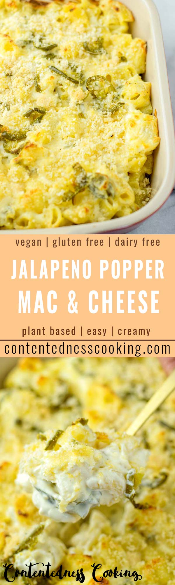 This Jalapeno Popper Mac and Cheese is the ultimate comfort food and super easy to make in under 30 minutes! The whole family will love the favorite in no time, such a keeper for dinner, lunch, meal prep and so much more. No one would ever taste it is vegan. So rich, cheesy and creamy taste like the real deal if not better.