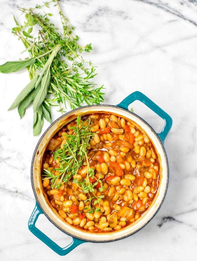 Enjoy these Baked Beans on their own or as a side dish to BBQs.
