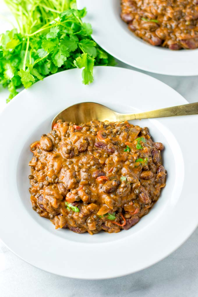 Madras Lentil are amazing as a main dish or as a side.