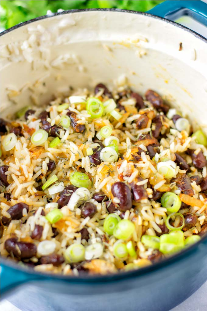 jamaican rice and peas  contentedness cooking